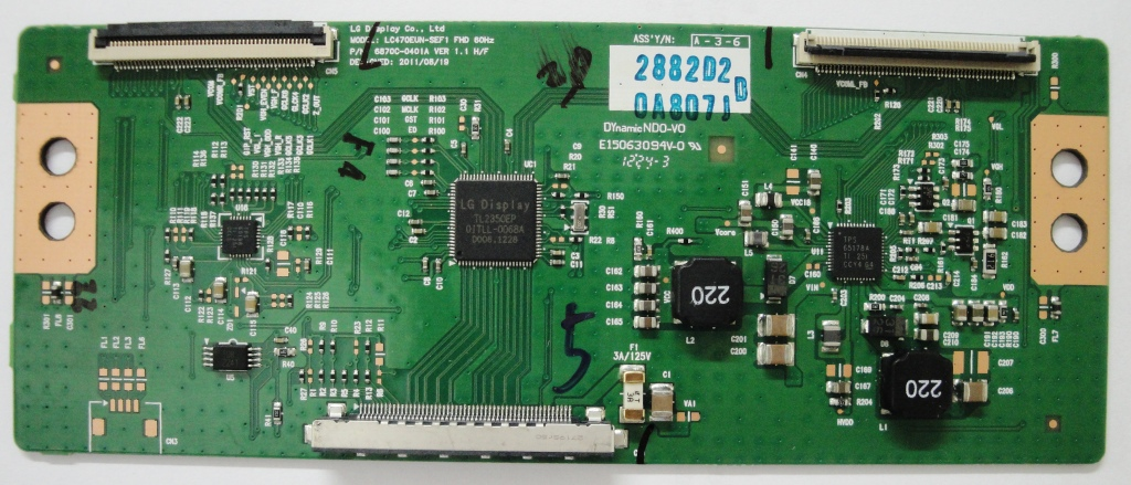 Placa t-con 6870c-0401a philips 42pfl3507d/78
