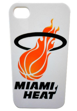 Capa case iphone 4 4s miami heat nba