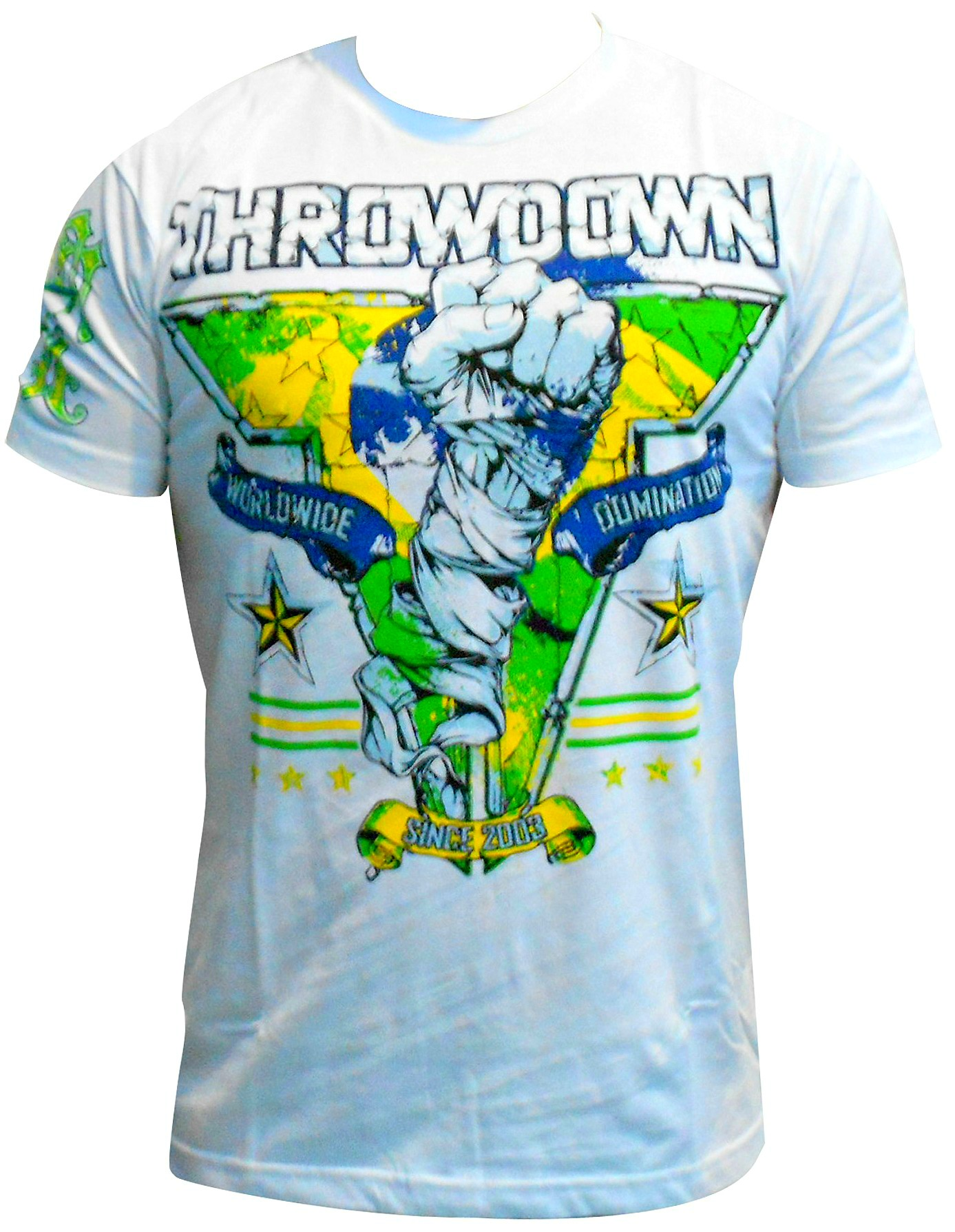 Camiseta throwdown ajax white